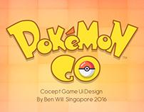 Pokemon Go Ui Design 2016 - Concept Ui Design :)