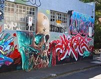 sidney art wall