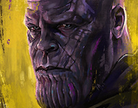 Thanos - Character Illustration