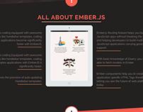 Ember.js App Development Services | Web Page Design