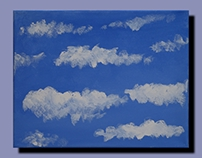 7 New Cloud Paintings by Kevin Geary