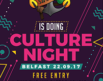 Sink The Ink - Culture Night 2017 Flyer