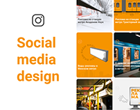 Social media design | Mir Metro
