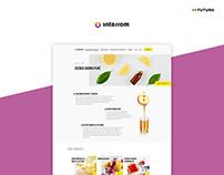 Company website | Client: Interrom