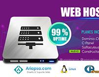 Publicidad WEB HOSTING Ariapsa 2015