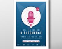 AFFICHE - Finale Concours d'Éloquence