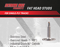 Fat Head Studs Packaging Card Insert