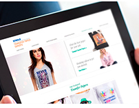 Transfer Paper Experts Website Redesign