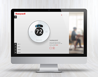 Honeywell website concept