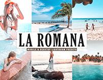 Free La Romana Mobile & Desktop Lightroom Presets