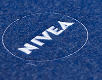 NIVEA Press Kit, made of recycled felt