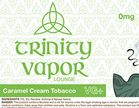 Package Design - Trinity Vapor Lounge