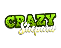 Crazy Shepard - logo and game art