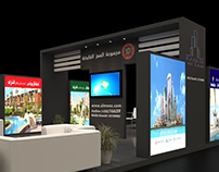 Almoez Group booth design
