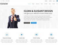 Enem - Multipurpose HTML Template