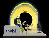 Sketch Decor Exhibition Stand