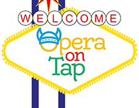 Logo Creation: Opera On Tap Las Vegas