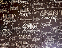 Murals - calligraphy on walls