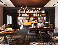 Smart applied furniture office