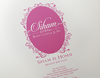 Siham Beauty Lounge & Spa - Visual Identity