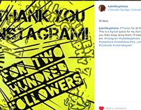 Instagram Thank You Post (Design Walkthrough)