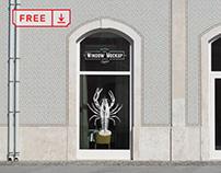 Free Window Mockup