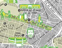 Illustrated Map Bilbao