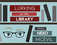 VISUAL IDENTITY - Lurking in the Library book blog