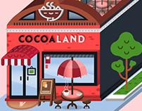 COCOA LAND.
