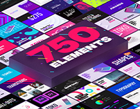 750+ Graphics Pack for After Effects and Premiere Pro