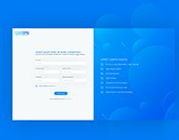 LoadSpin Sign Up UX Design