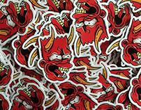 Stickers // Bart Hannya