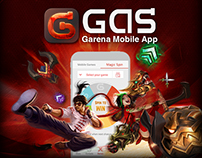 Garena GAS and Garena Mobile Advertisement Banners