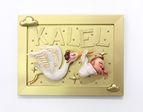 Personalized Nursery Frame - Kalel
