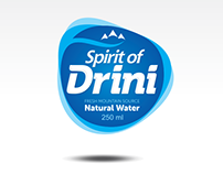 Brand and label for water  bottling company