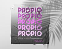 Propio Podcast - Brand Design