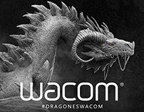 DRAGON - 1st First place winner WACOM contest