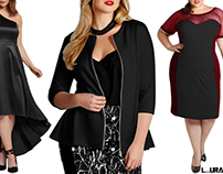 How To Look Slimmer In Plus Size Cocktail Dresses