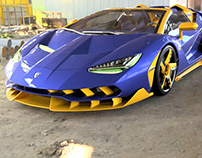 Centenario Roadster FB Edition Quick Render