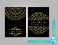 Mandala Project Card Design