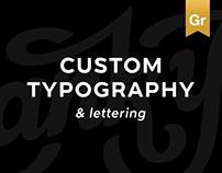 Custom Typography & Lettering