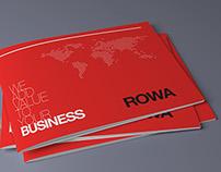 ROWA Knitwear Booklet