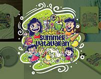 Summer Nostalgia - Merchandise Project