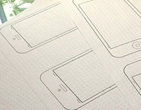 Free iOS Sketch / Wireframing Paper
