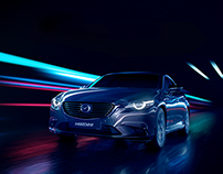 Mazda 6/CX5 commercial Art Direction