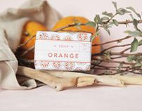 Soap line   Packaging, branding, illustration