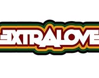 Extra Love Reggae band Logos & Lettering