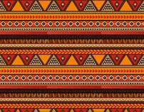 African Aztec Print