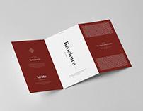 Tri-Fold Half Letter Brochure Mock-up