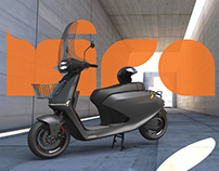 KIRA e-scooter concept